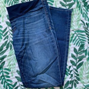 Madewell maternity skinny jeans size 27